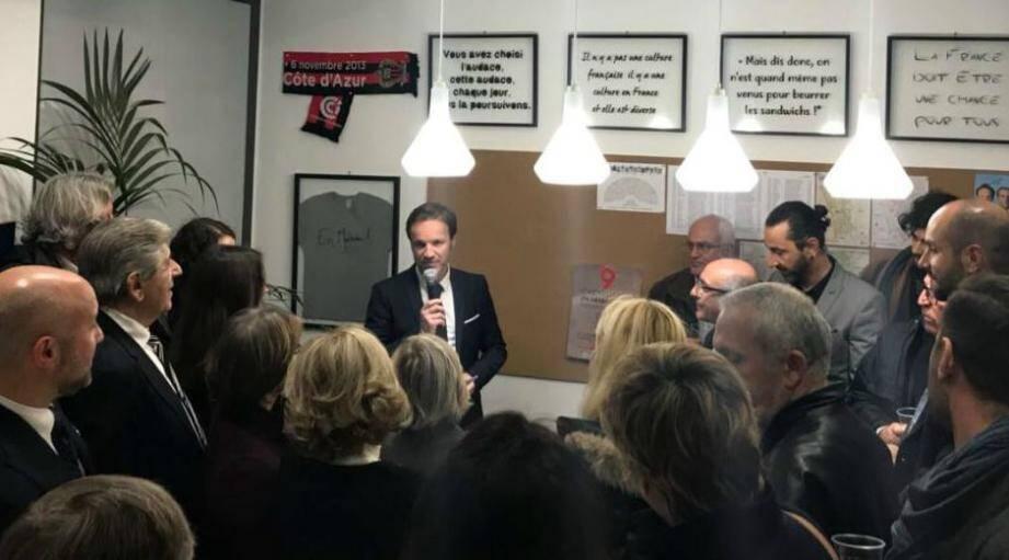 Cédric Roussel a inauguré jeudi sa permanence, au 2, rue Grammont, dans le quartier Libération. Le député en a profité pour lancer son site, Cedricroussel.fr.