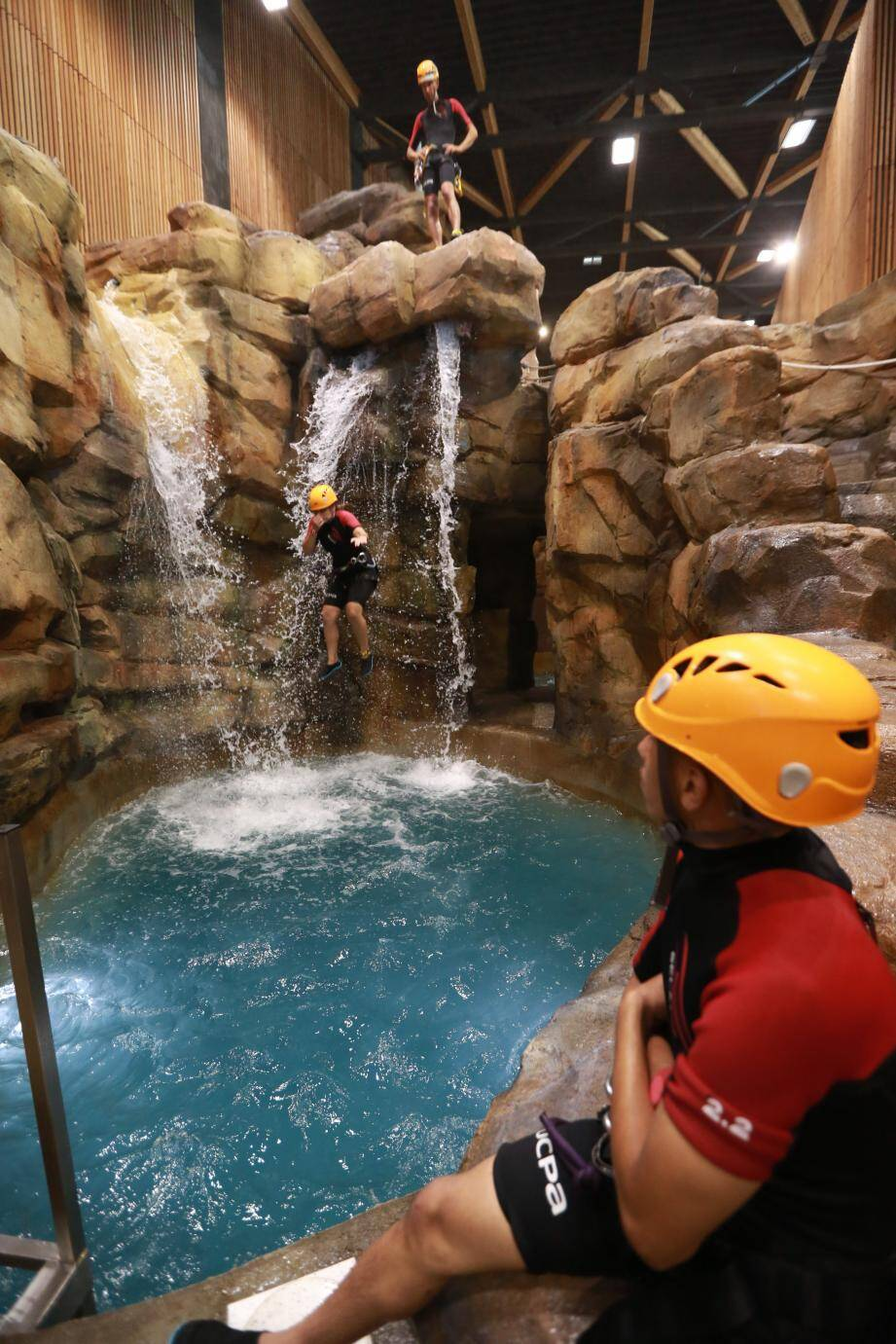 L'espace canyoning