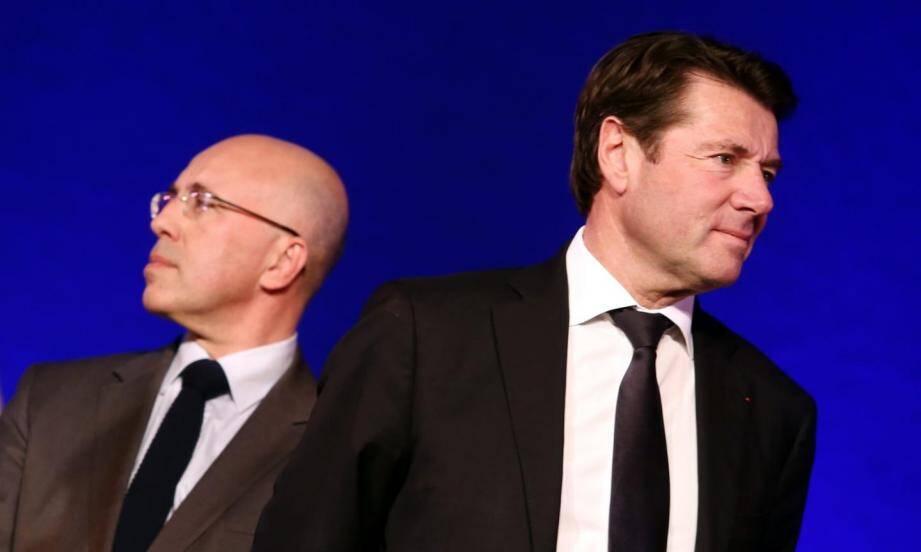 La rivalité qui oppose les deux barons de la droite locale s'intensifie semaine après semaine.