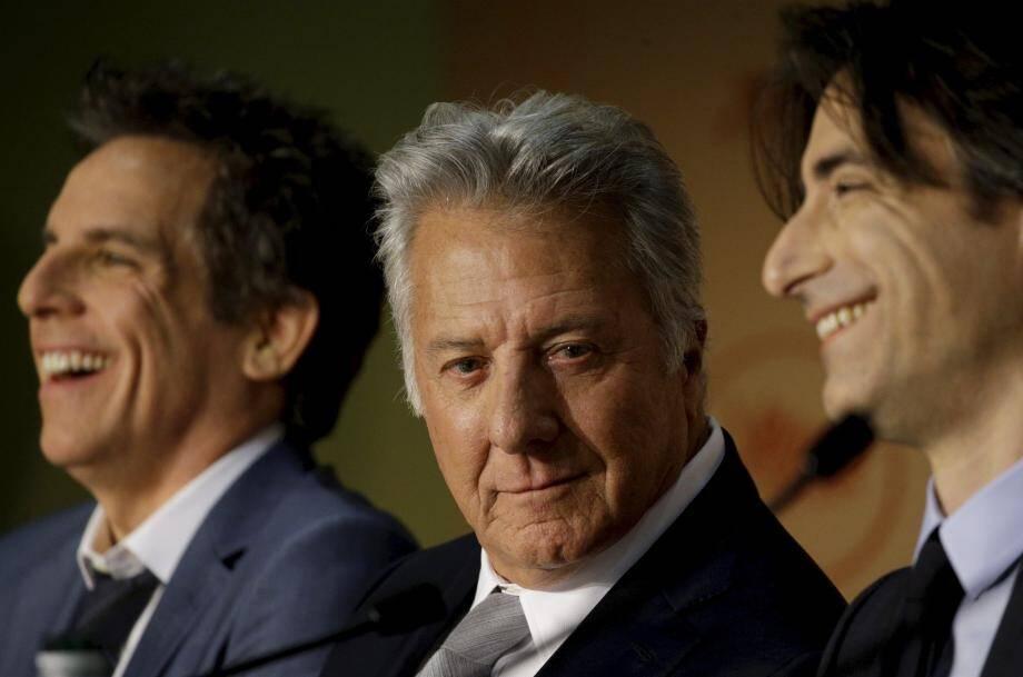 Dustin Hoffman lors du Festival de Cannes.