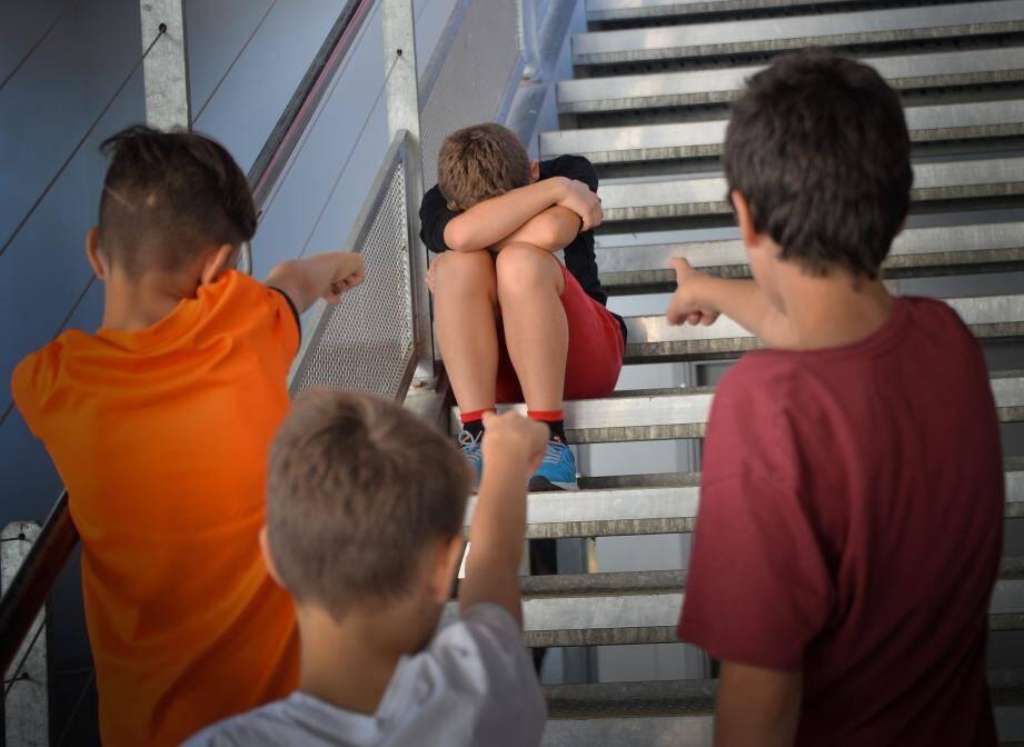 Illustration harcèlement scolaire.