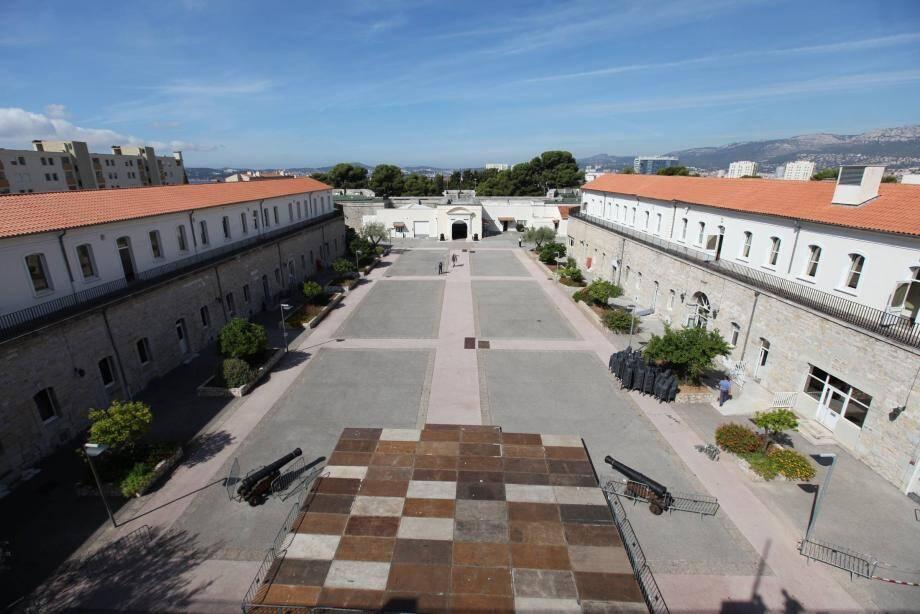 Vue du Fort Lamalgue