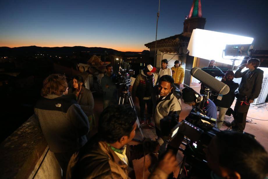 Bollywood en tournage dans l'Est-Var.
