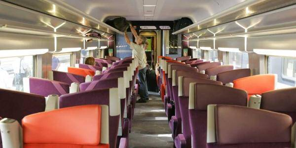 L'agression a eu lieu à l'intérieur d'un TGV.