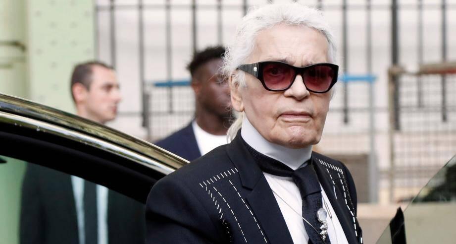 Karl Lagerfeld est décédé ce mardi à Neuilly-sur-Seine.