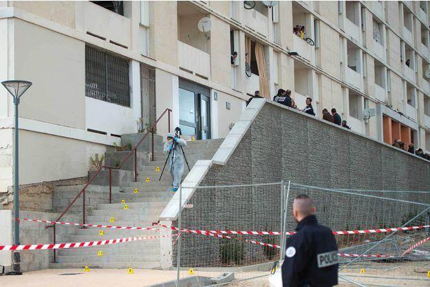 La cité des Lauriers à Marseille.