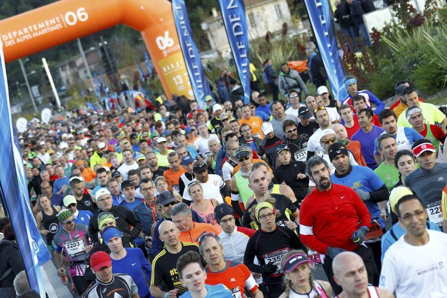 Marathon Nice-Cannes.