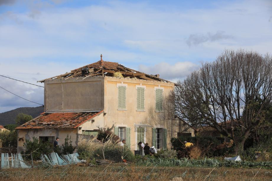 Les dégâts sont importants à Hyères