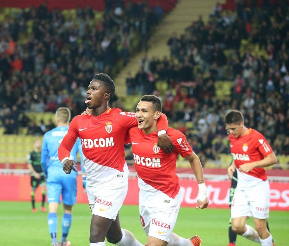 Baldé et Lopes célèbrent leur prestation réussie