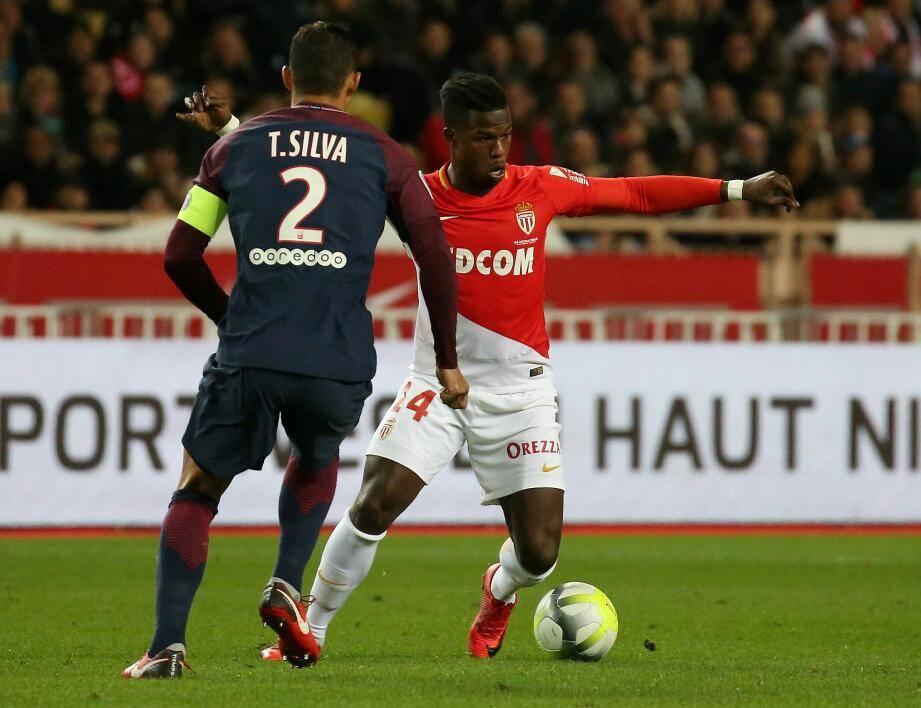 Baldé n'a pas pu prendre le meilleur sur Thiago Silva ce dimanche soir.