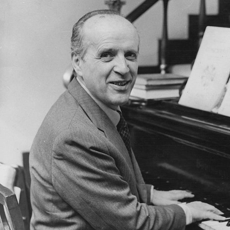 Nino Rota, l'un des plus grands compositeurs italiens de musiques de films.