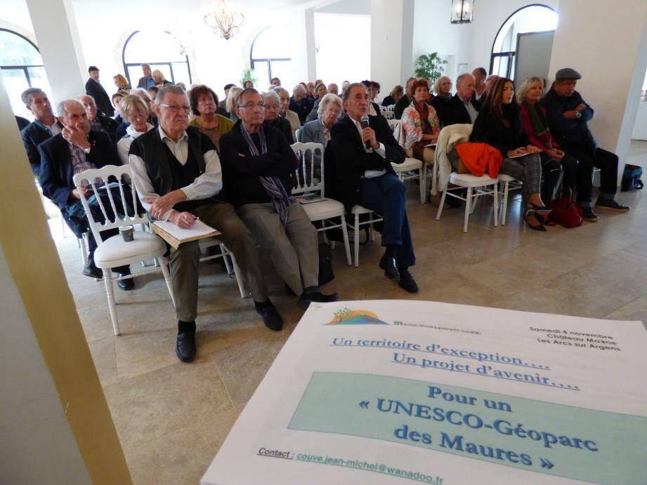 l'ex-député Jean-Michel Couve n'abandonne pas son grand projet pour l'avenir et le développement touristique du Pays des Maures.
