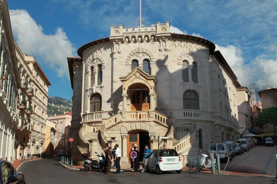 Palais de Justice de Monaco .