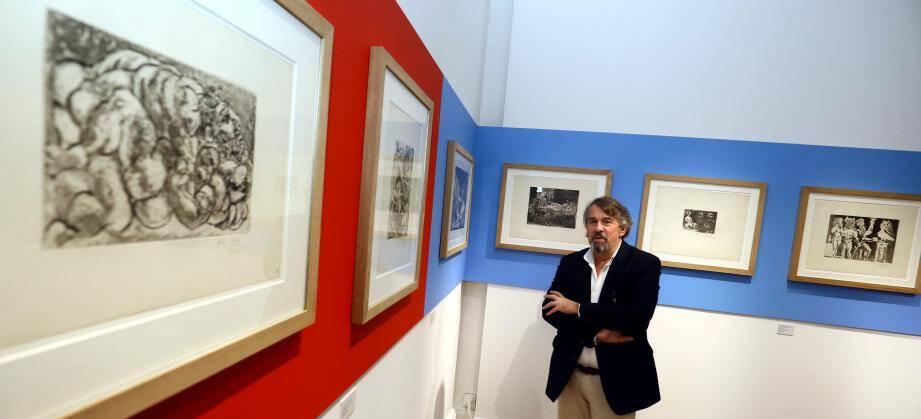 Frédéric Ballester clôture sa carrière à Cannes avec cette expo Picasso.