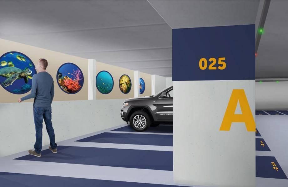 Le parking Peiresc, à l'instar de neuf autres parkings, gérés par la société Q-Park subira un important lifting.