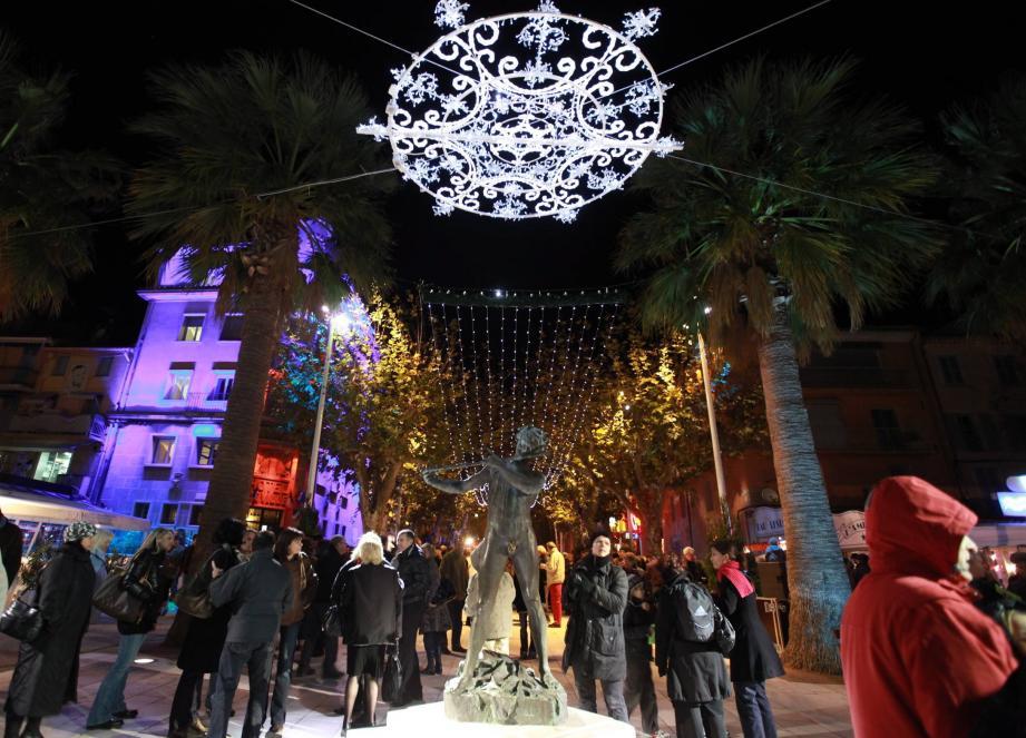 Les illuminations de Noël à La Seyne
