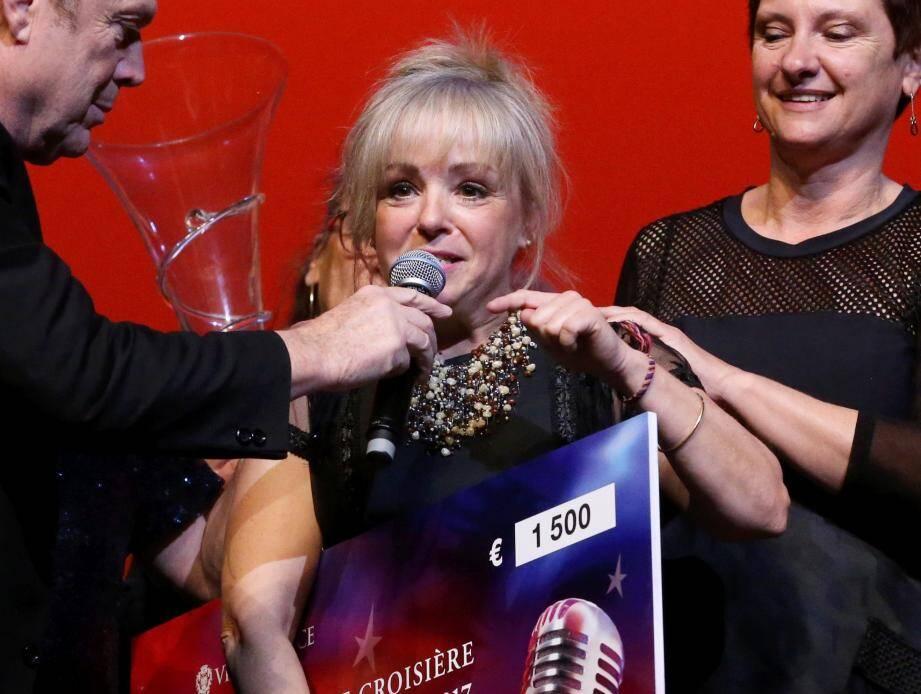 Pascale Maillot, gagnante de StarSeniors en 2017.