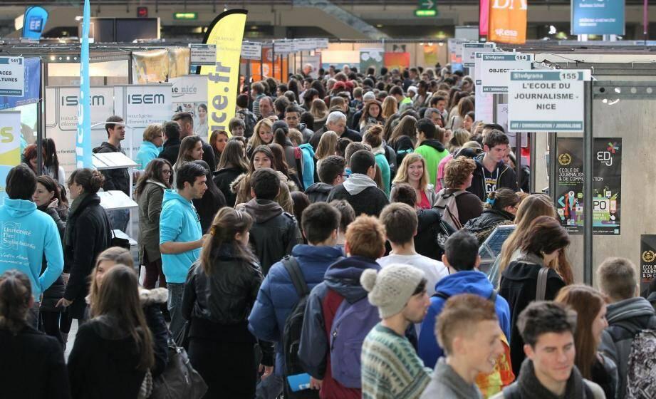 Studyrama, une manifestation qui accueille chaque année des milliers de visiteurs en quête de réponses précises à leur devenir.