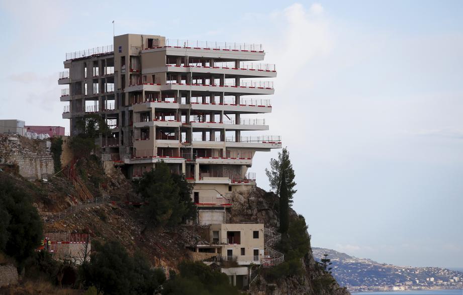 Le Vista Palace à Roquebrune-Cap-Martin.