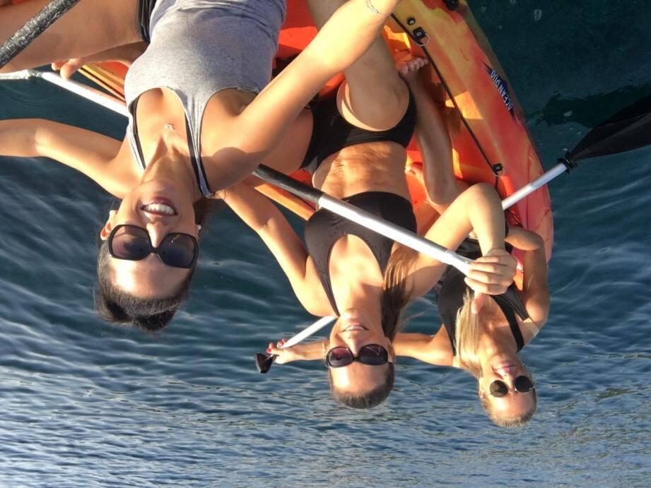 Le team Namaste composé de Marina, Maryline et Candice toujours à fond !