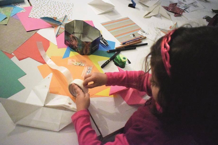 Le samedi matin est réservé aux ateliers parents-enfants.(DR)