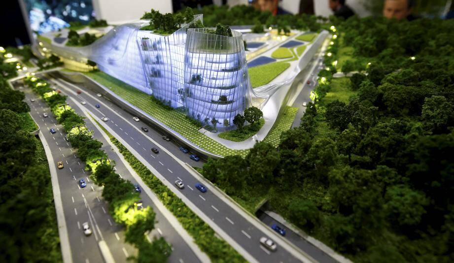 Voilà ce à quoi devrait ressembler le futur centre commercial Open Sky à Valbonne.
