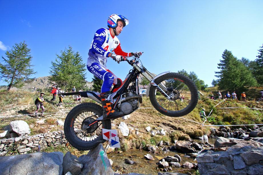 Le Moto-Club de La Gaude organise deux épreuves de trial mondial : le 6 avril à Nice en indoor et les 14 et 15 juillet à Auron en outdoor. L'Azuréen Benoit Bincaz (ci-dessus) représentera la France lors du Trial indoor de Nice en 2018.(DR)