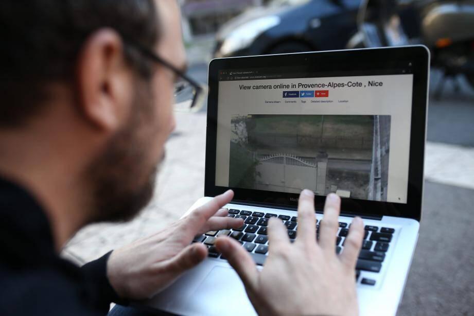 """Les images de dizaines de webcams """"privées"""" installées sur la Côte en accès libre sur un site Internet russe."""