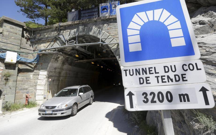 Le tunnel de Tende est soumis ce matin à un exercice annuel de sécurité franco-italien.