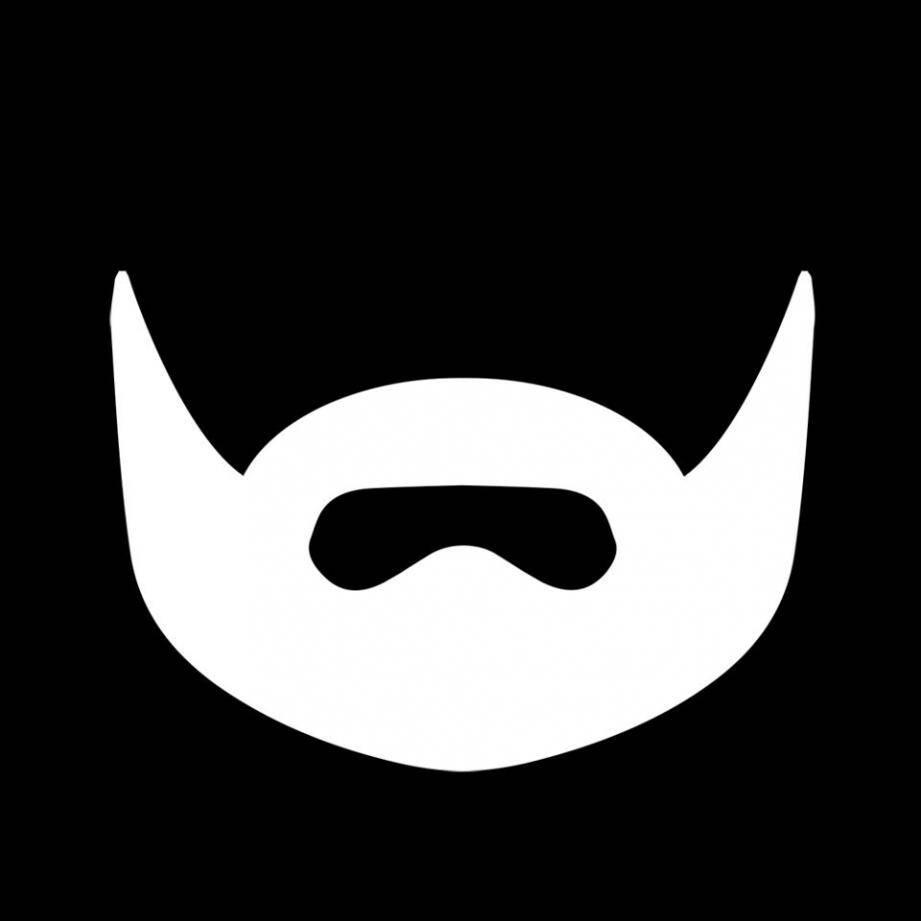 « Ghostly beard » ne laisse voir de lui qu'une barbe. Très symbolique.(DR)