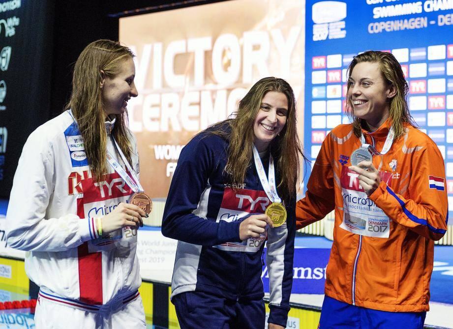 Charlotte Bonnet s'impose devant la Néerlandaise Femke Heemskerk et la Danoise Veronika Andrusenko.