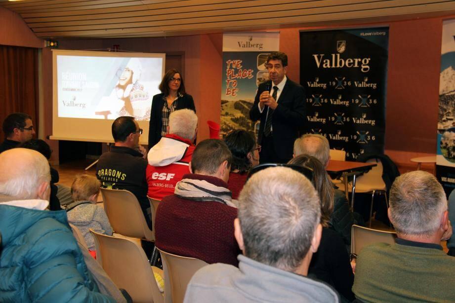Une réunion qui a réuni acteurs socio-économiques et élus pour une vision unie du futur de Valberg.