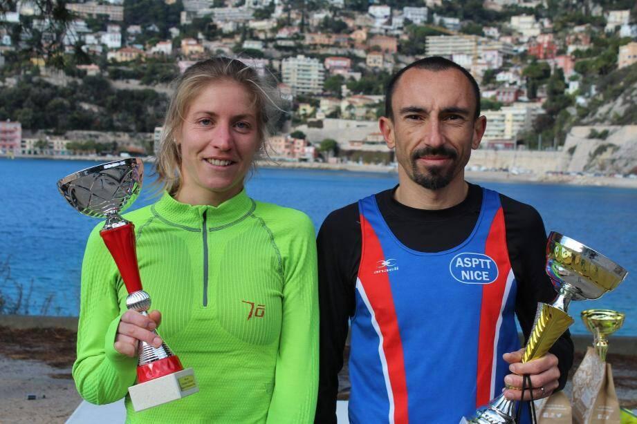 Les coureurs de « Trail pour tous » ont parcouru les 10 km en1 h 04.