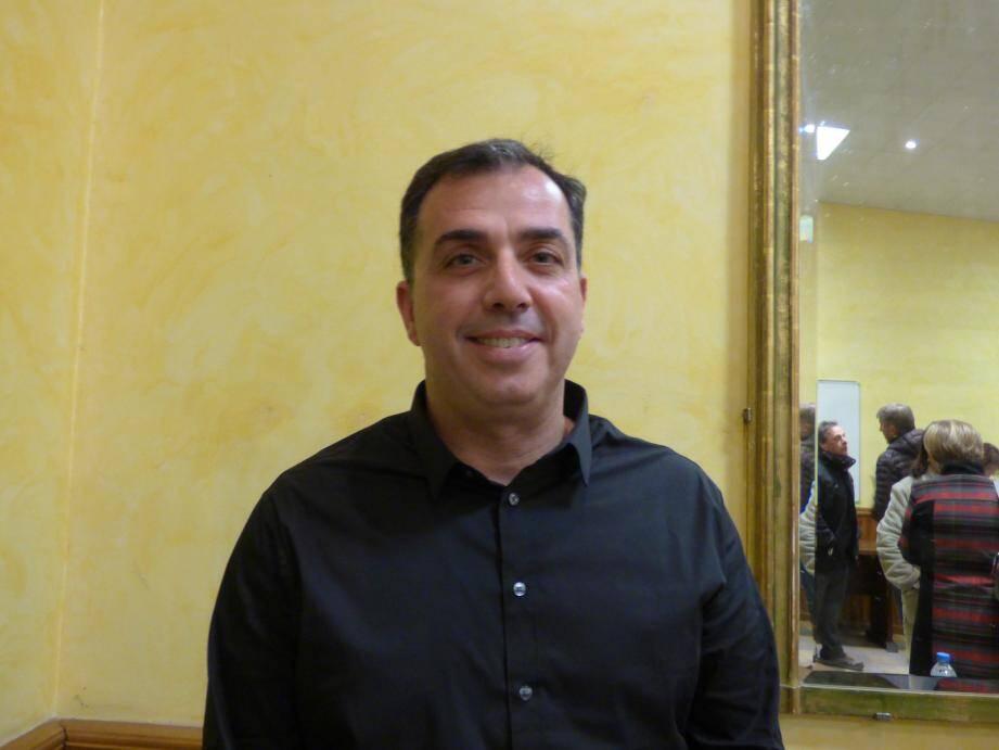 Frédéric Martinez, nouvel élu gattiérois.