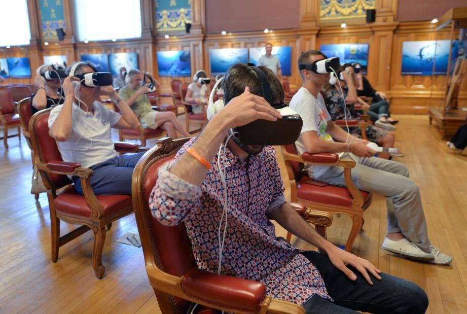 En attendant de découvrir une nouvelle animation sur le thème de la banquise, plongez dans les fonds marins grâce à la réalité virtuelle.