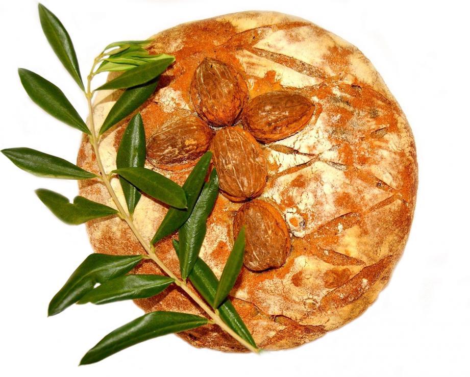 Un pan de natale et des fougasses pour un Noël monégasque dans la plus pure tradition.(DR)