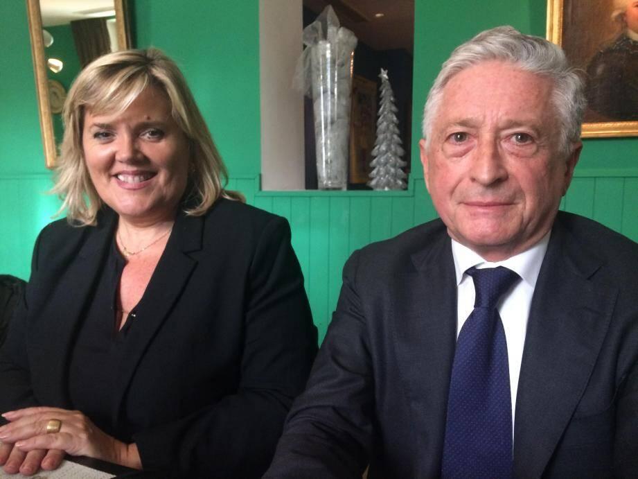 Michèle Tabarot, députée et Yves Pigrenet, maire du Cannet : toujours unis…