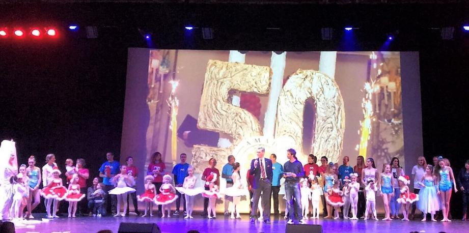 Un millier d'enfants ont assisté au spectacle proposé à l'Auditorium Rainier-III.(DR)