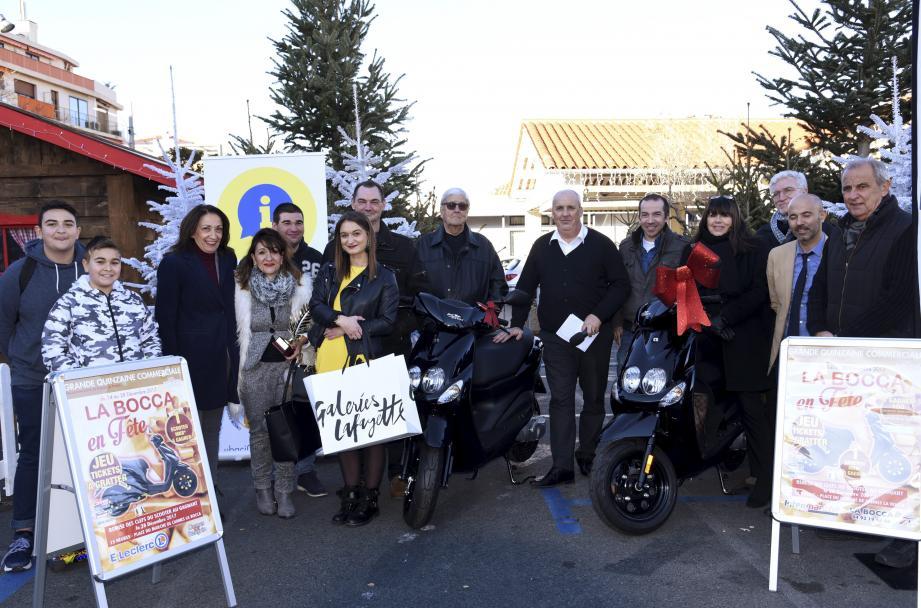 La boulangerie les Délices de Norroy a reçu un trophée pour ses décorations. Deux Boccassiens ont remporté un scooter.