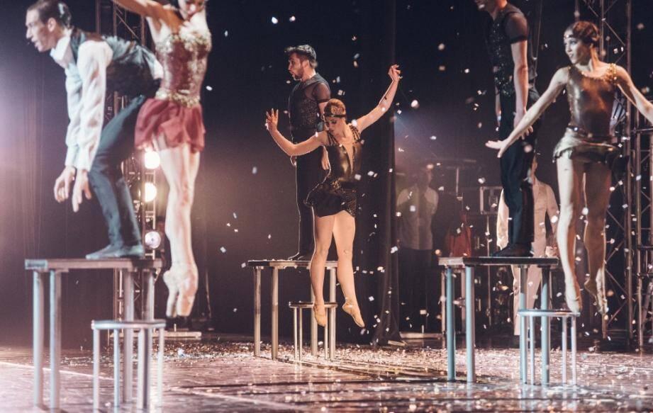 Les danseurs reproduisent des scènes du roman de Francis Scott Fitzgerald qui a aussi été adapté au cinéma, avec Leonardo Di Caprio.(DR Urasov)