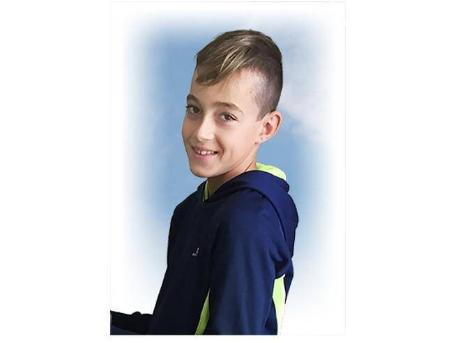 Allan, 12 ans.