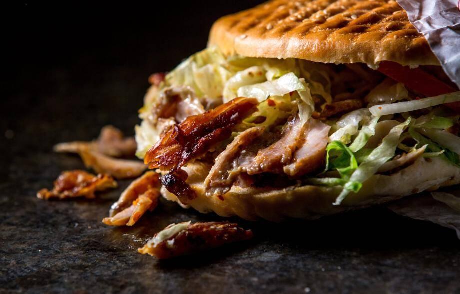 Le kebak, un des sandwichs préférés des Français.