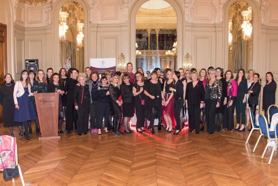 Dix prix ont été remis lors de la soirée de Noël de la délégation Nice des Femmes Chefs d'entreprises.