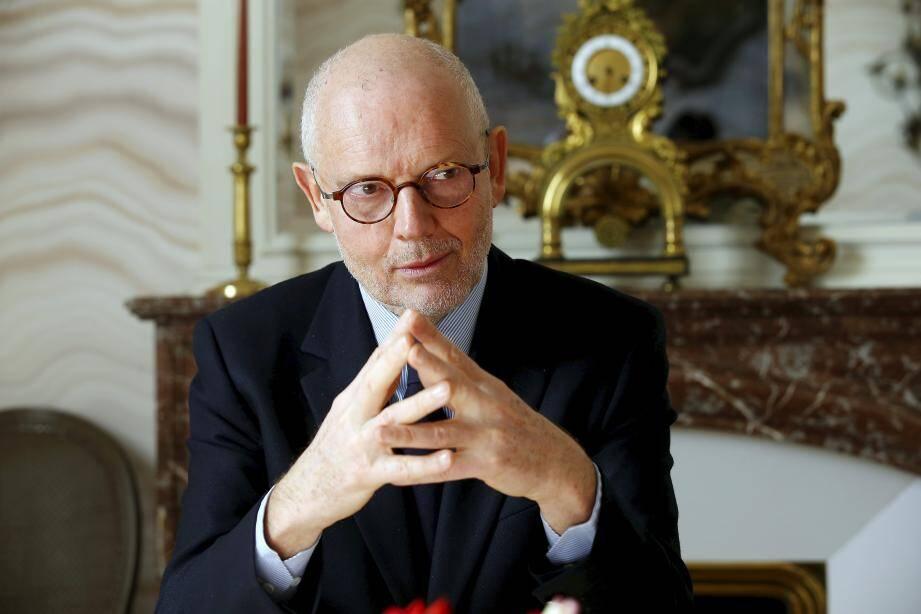 Serge Telle, le chef du gouvernement princier.