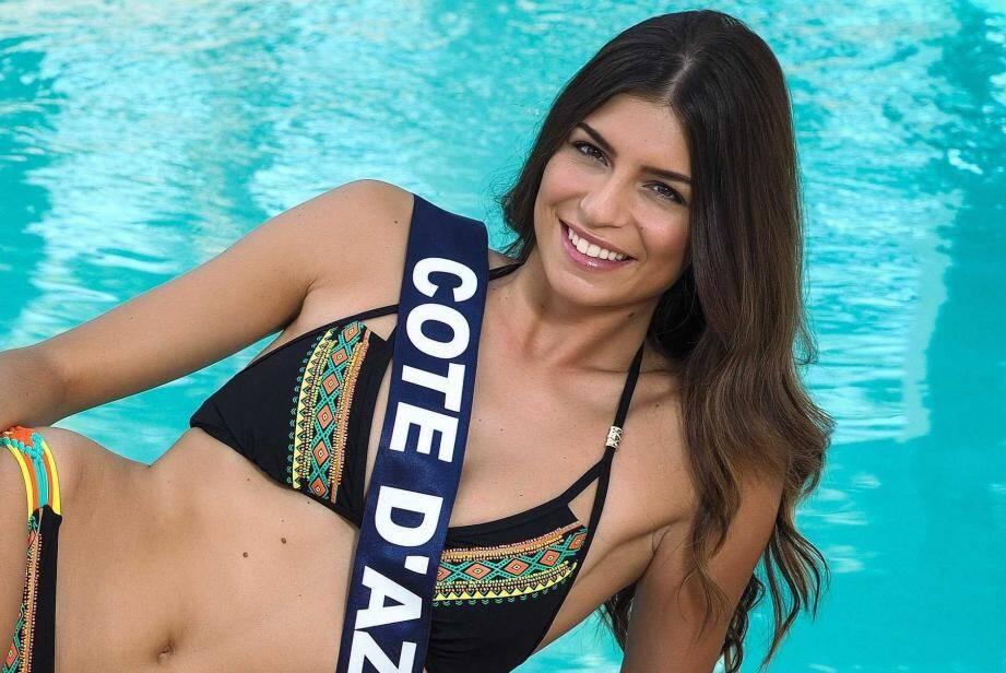 Miss Cote d'Azur Julia Sidi-Atman.