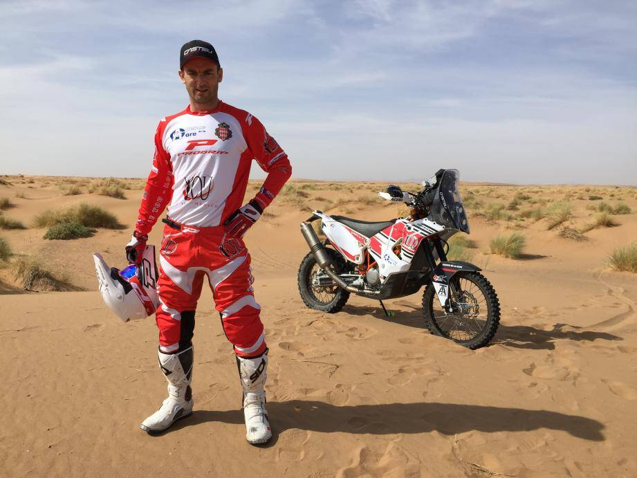 Adrien Maré, la moto dans la peau.