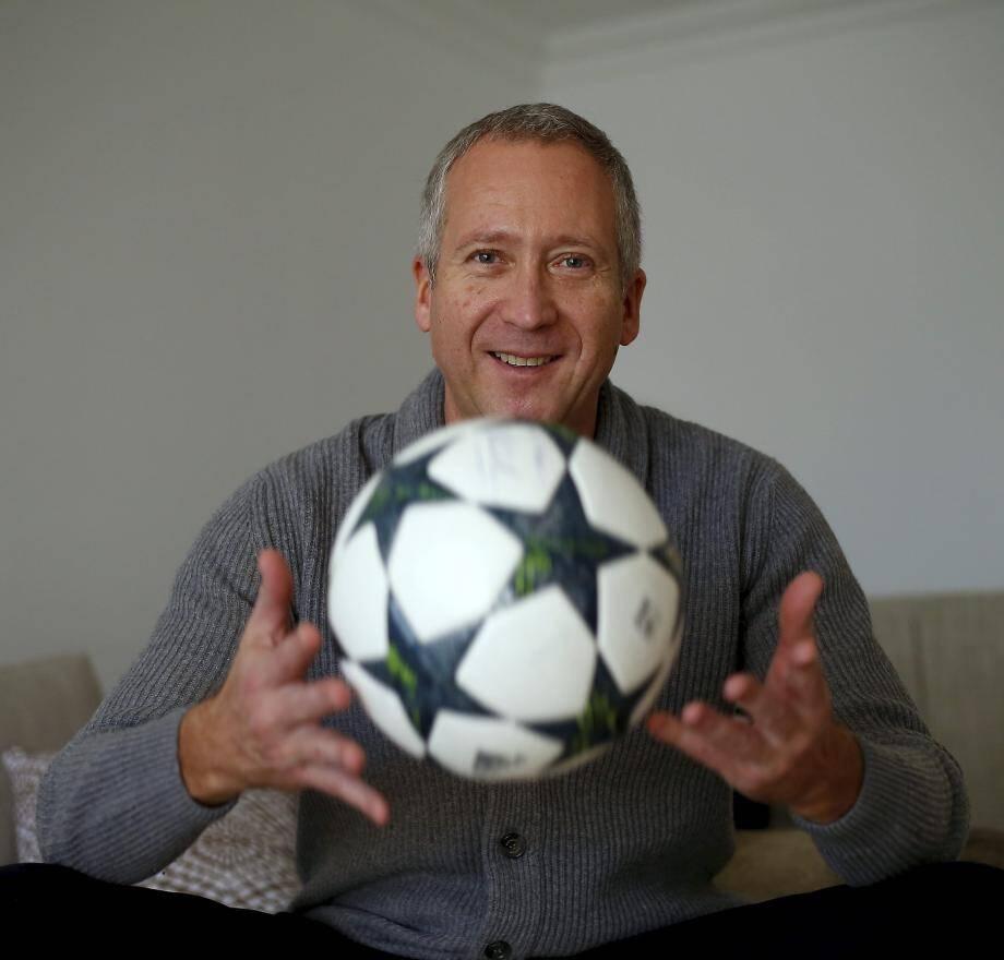 ©PHOTOPQR/NICE MATIN ; interview de Vadim Vasilyev, vice-président de l'AS Monaco football ITW VADIM VASILYEV