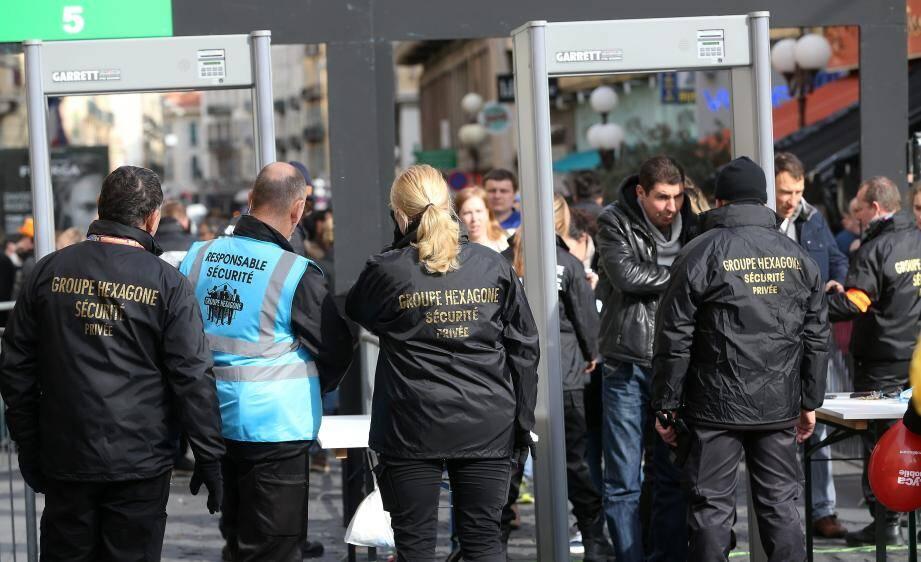 Le groupe de sécurité privée Hexagone.