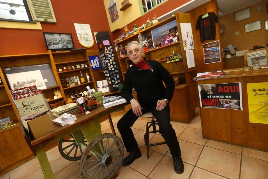 Michel Rainero, 63 ans, a décidé de prendre sa retraite.