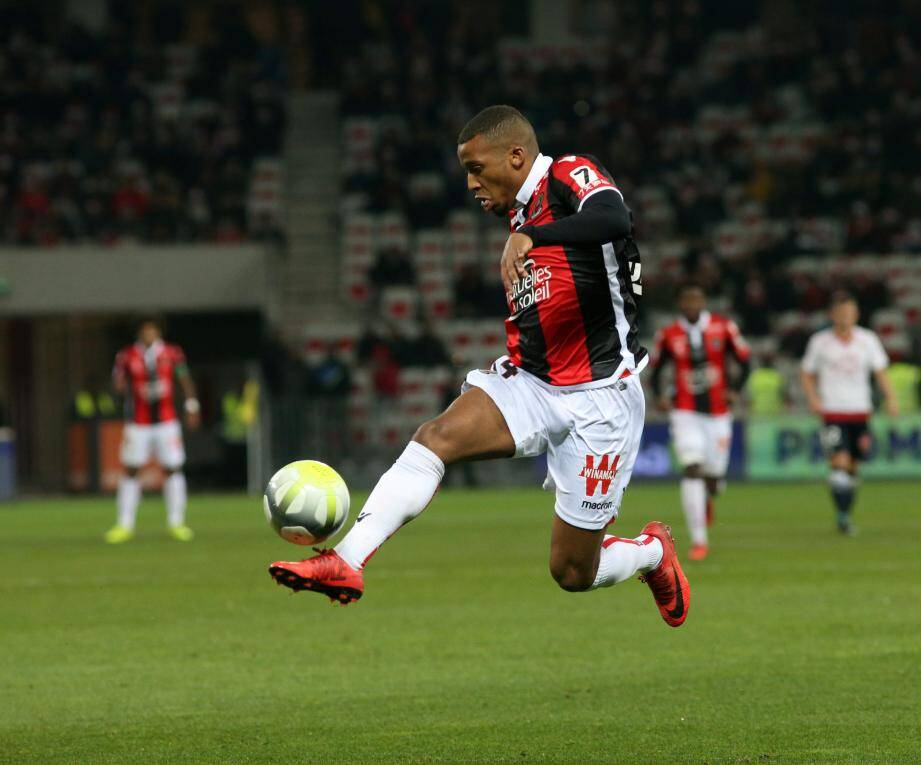 Alassane Plea ici contre Bordeaux.